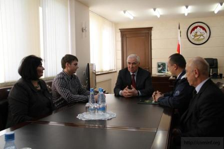 Депутат Молодежного парламента посетил дружественную Республику