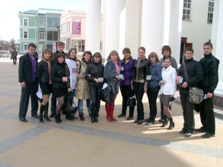7 апреля Молодежный парламент принял участие в мероприятии, посвященному Всемирному дню здоровья