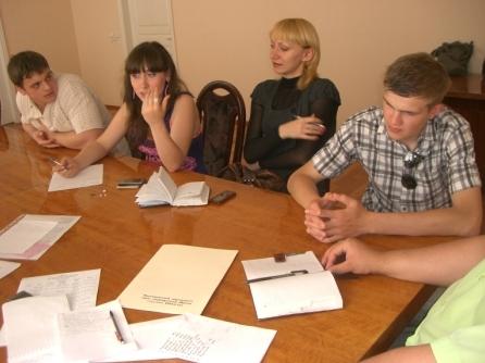 17 мая состоялась рабочая встреча депутатов Молодежного парламента
