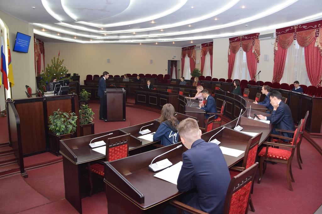 Cостоялось 5-е заседание Молодежного парламента