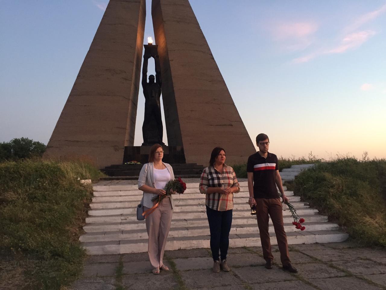 Состоялась масштабная всероссийская акция «Свеча памяти»