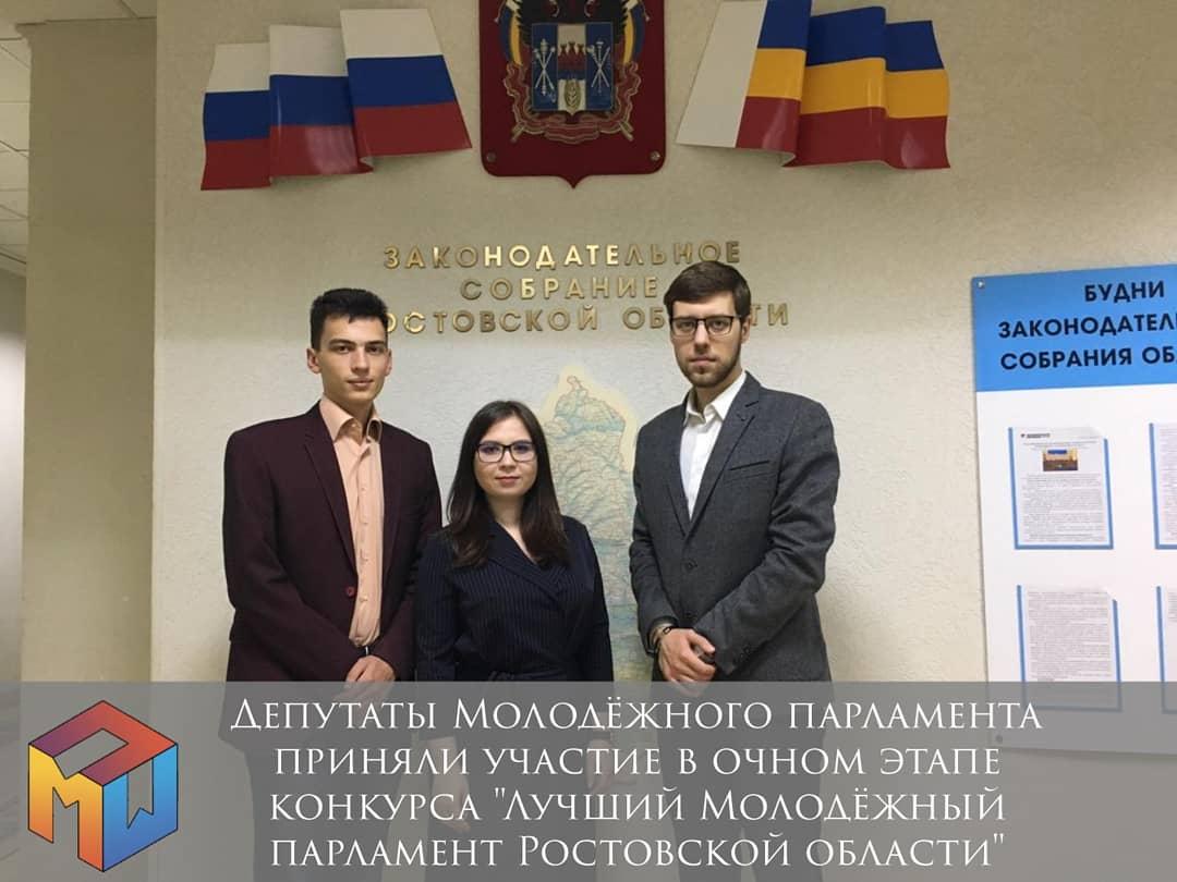 Лучший молодёжный парламент в Ростовской области