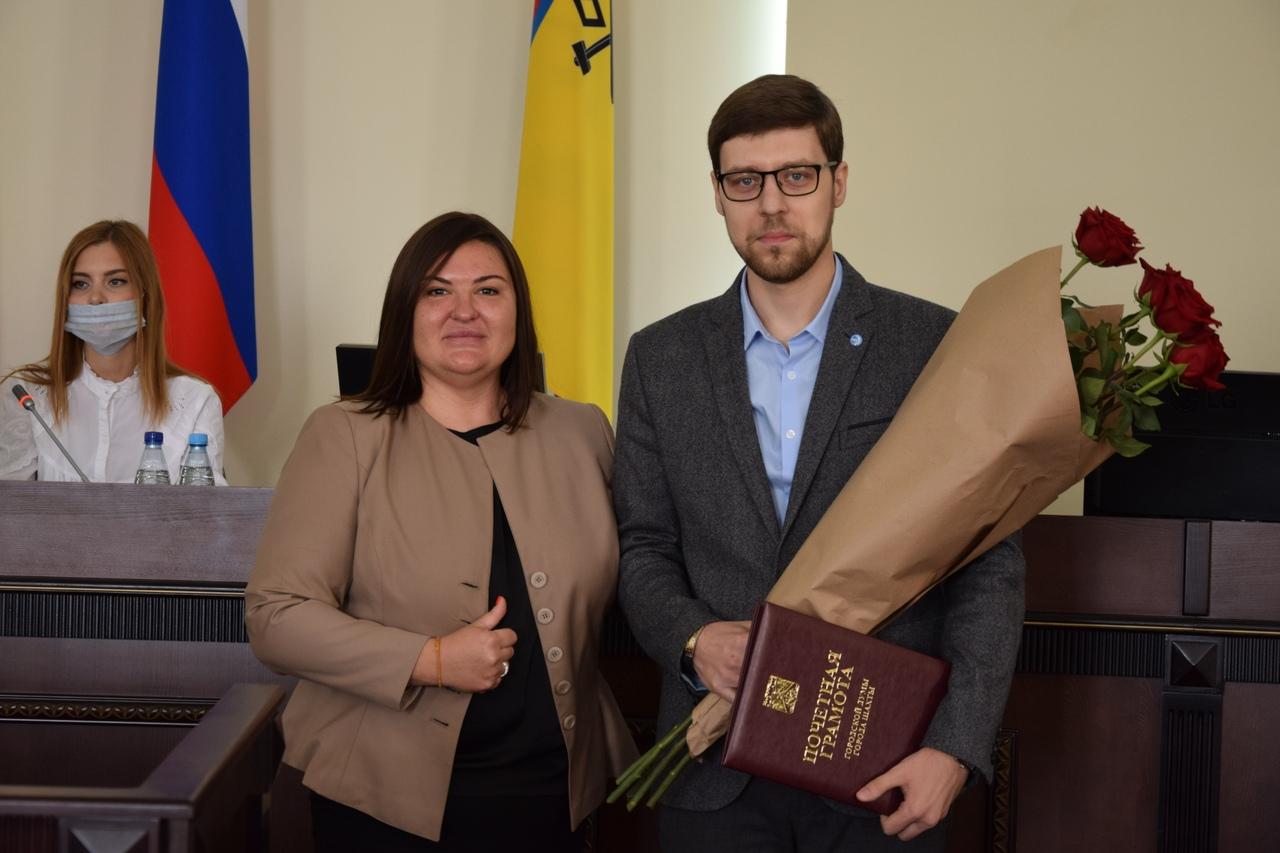 Спешим поздравить Артема Дмитриевича Грекова-Председателя Молодёжного Парламента 7 созыва при городской Думе г. Шахты