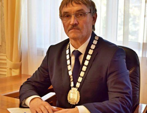 Поздравление Андрея Григорьевича с назначением на должность председателя городской Думы города Шахты — главы города Шахты